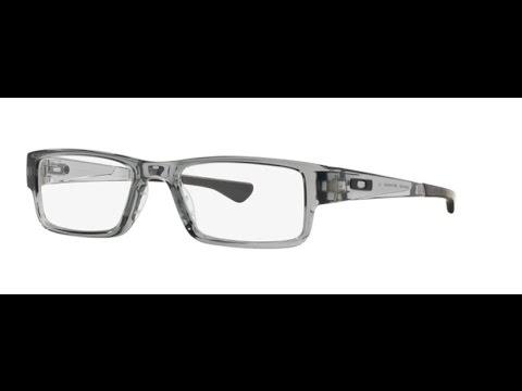 62c8ab98e7 Oakley Airdrop OX8046 03 Eyeglasses Grey Shadow - YouTube