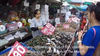 Pattaya Seafood , Naklua Market , Thailand