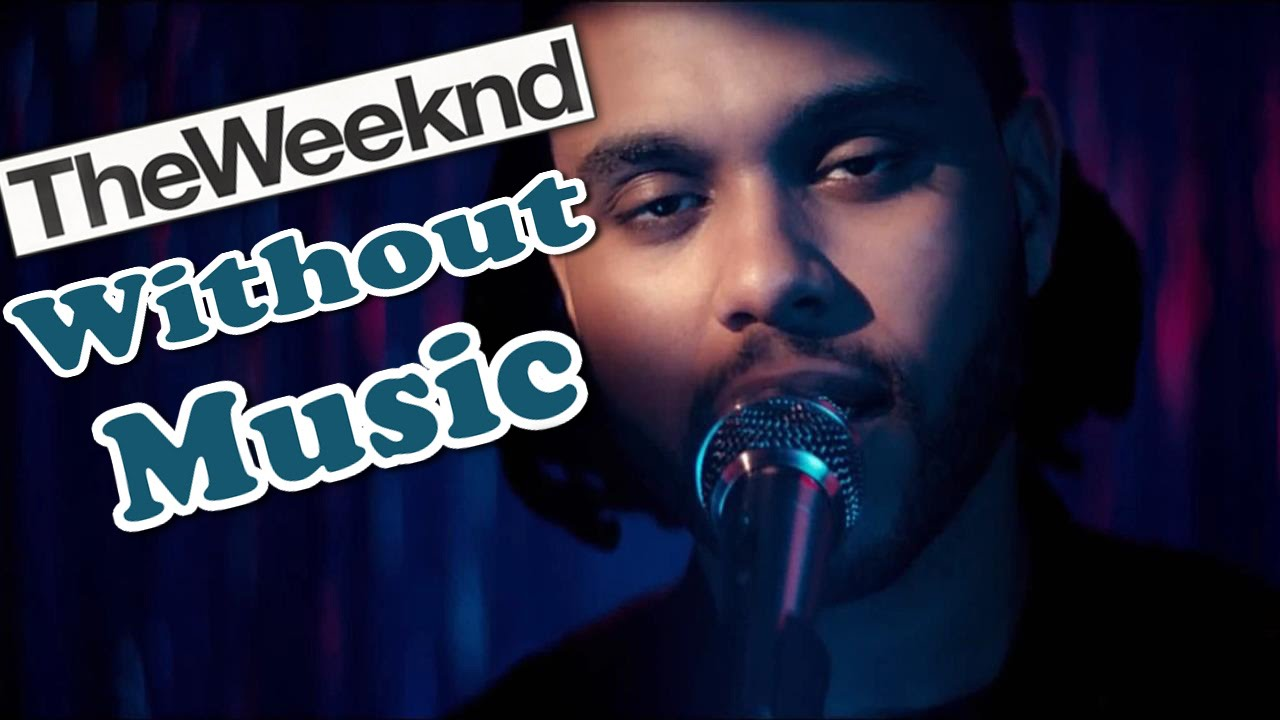 The Weeknd - Can't Feel My Face - Without Music Shreds