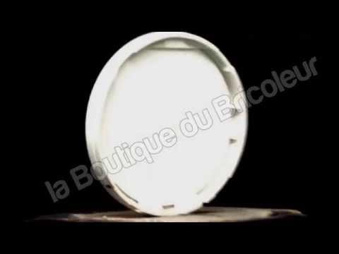 1 Plaque simple Céliane matière cuir brun texturé 69401