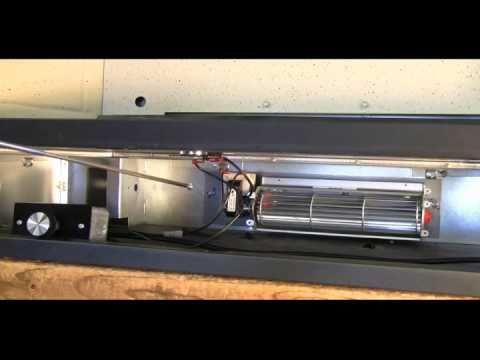 FK24 Fireplace Blower Kit Installation