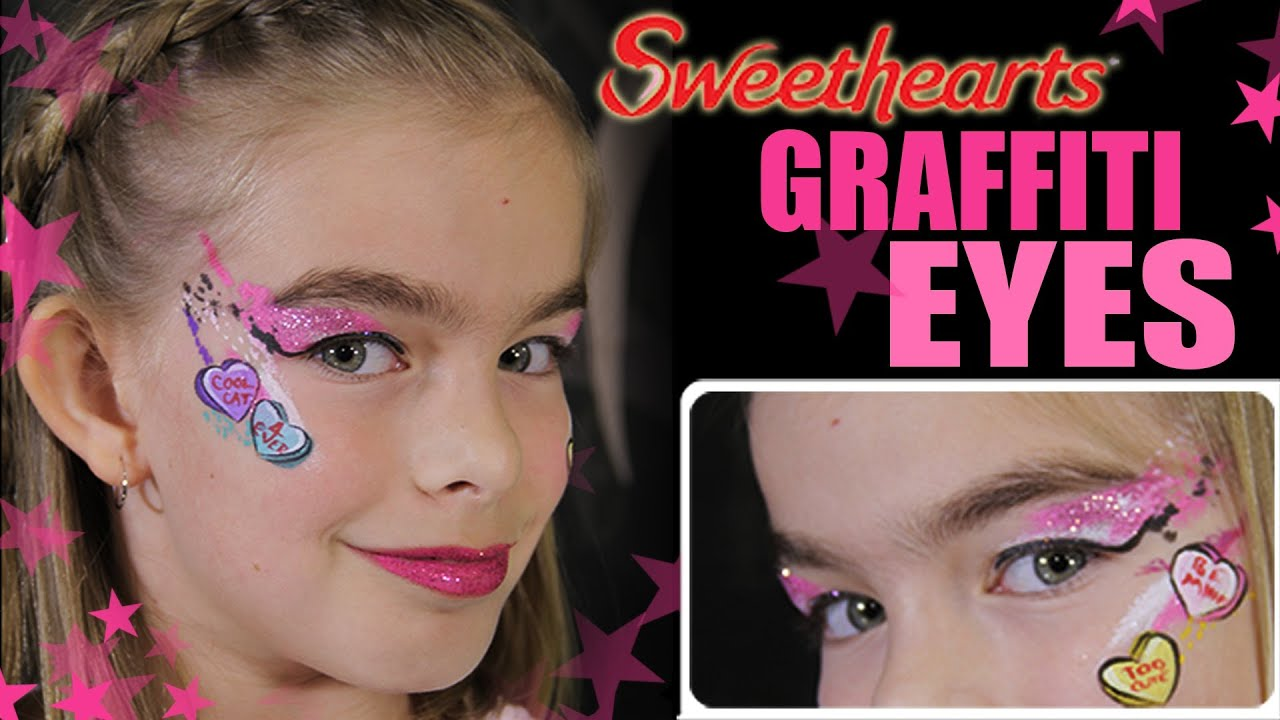 Sweethearts Candy Valentine Makeup Tutorial - Face ...