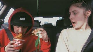DRIVE WITH ME & MY BOYFRIEND PT.1   Chloe & Brady