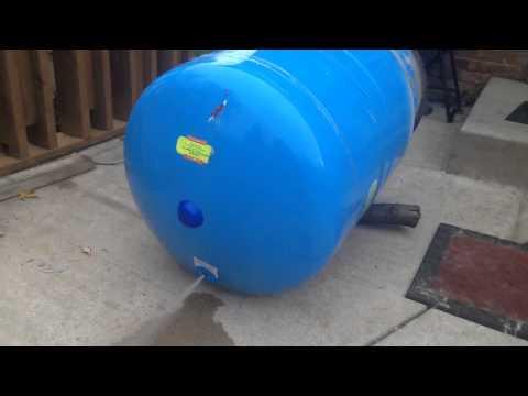 Pressure Tank - Bladder Failure