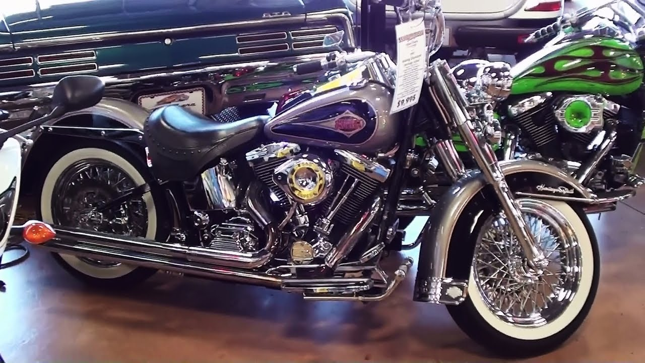 1997 Harley Davidson Heritage Softail Classic 1340 V-Twin Tons of Chrome