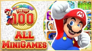 Mario Party: The Top 100 - Minigame Island STORY MODE 100%! [🔴LIVE! Nintendo 3DS Gameplay]