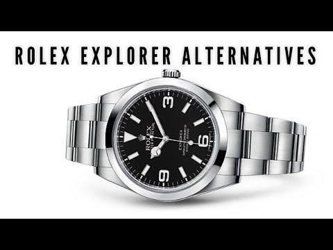 Top 3 Rolex Explorer Alternative / Homage Watches - SEIKO ALPINIST? NO WAY!