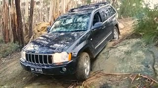 Jeep Grand Cherokee CRD Off-Road Test