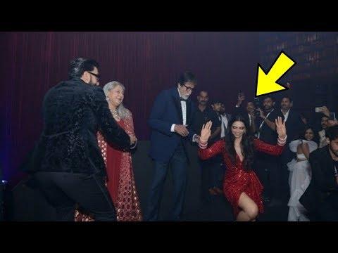 Deepika Padukone's crazy dance with Ranveer Singh, Aishwarya Rai Bachchan and Amitabh Bachchan