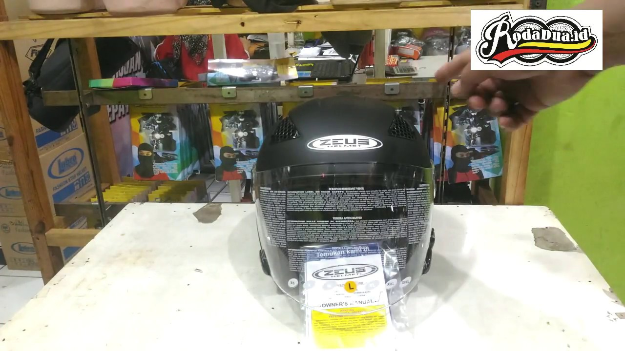 Review Helm Zeus Zs 610 Youtube