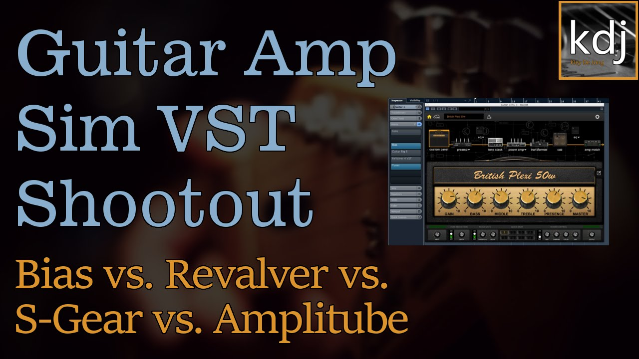 guitar amp sim vst shootout bias revalver s gear amplitube youtube. Black Bedroom Furniture Sets. Home Design Ideas