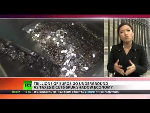 Black Books  EU shadow economy booms as austerity bites