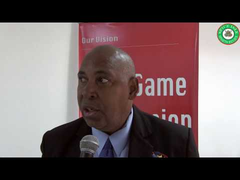 President of the Dominica Football Association - Glen Ettienne