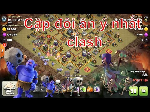 NMT | Clash of clans | Combo bowler witch thống trị hall 11 War