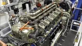 O maior motor do mundo de um navio veja como e feito