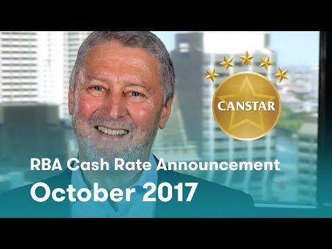 RBA Cash Rate Announcement - October 2017