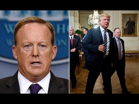 Sean Spicer writing a book about stint in the White House