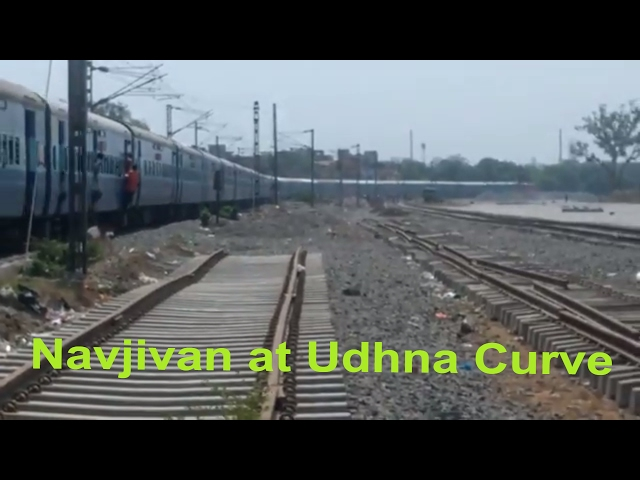 Only Daily Connection of two Metrocity - Navjivan Express on Udhna Curve