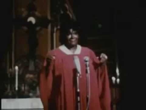 MAHALIA JACKSON - We shall overcome - TV Footage (Live) 1960