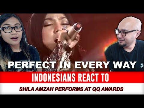 Indonesians React To Shila Amzah - Zui Chang De Dian Ying @ QQ Music Awards 2014 270314