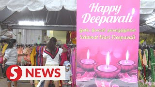 Modest preparations for Deepavali in KL's Little India