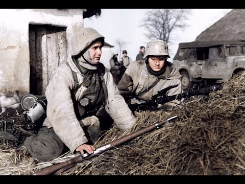 German Army In Winter On The Eastern Front 1941-1945  Зимние бои на Восточном фронте