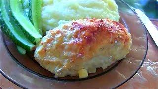 Куриные котлеты в духовке рецепт из домашней курицы chicken cutlets in the oven