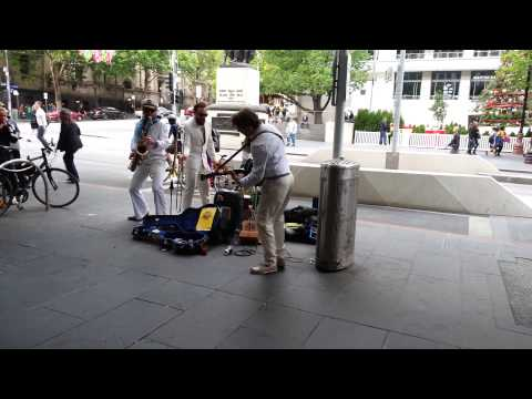 This is Melbourne. (World