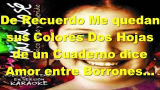 karaoke - Maria Jose Quintanilla - El de la Mochila Azul