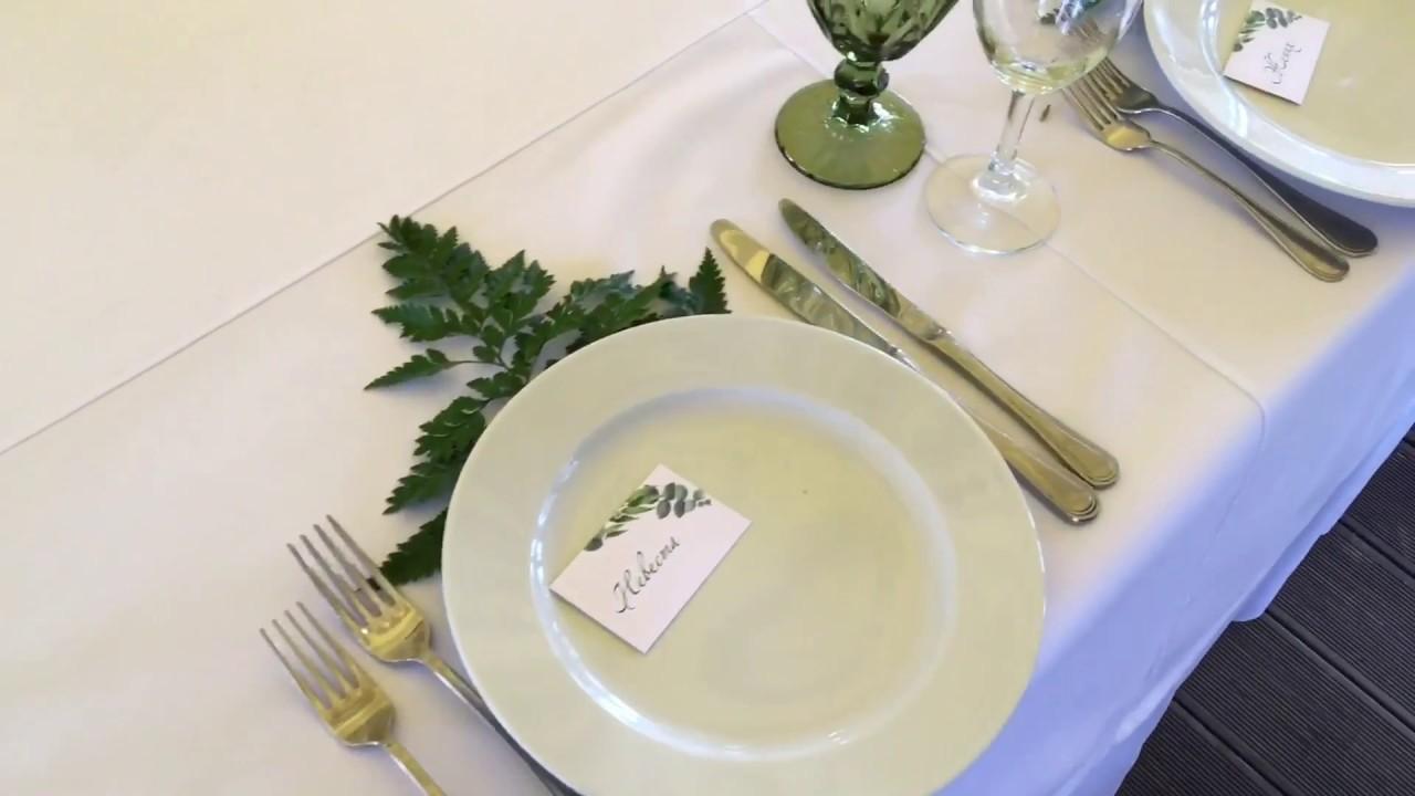 Greenery wedding by wedart.com.ua - Оформление свадеб в Киеве