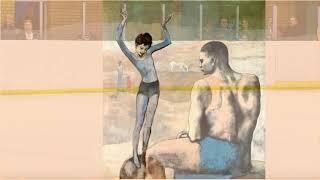 Pablo Picasso,Камила Валиева  Девочка на шаре