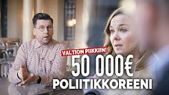 Keskusta maksatti puheenjohtajansa 50 000€ poliitikkoreenit valtion piikkiin - tämä on korruptiota!