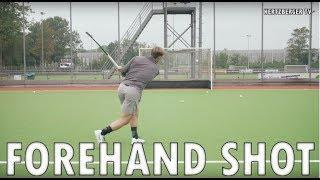 Forehand Shot by Hertzberger | Field Hockey Training Tutorial | Hertzberger TV