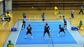 2011 Arafura Games  Sepaktakraw   Sports Authority Of Thailand V Terengganu Malaysia1of2