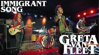 Greta Van Fleet - Immigrant Song [LIVE] - Led Zeppelin Cover (2015)