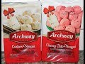 Homestyle Archway Cookies: Cashew Nougat and Cherry Chip Nougat Review