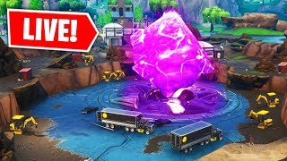 FORTNITE LOOT LAKE CUBE EVENT VERY SOON! (FORTNITE BATTLE ROYALE)