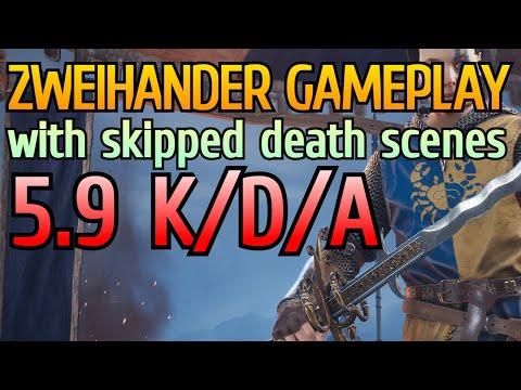 Royal Zweihander (Greatsword) Gameplay with 5.9 KDA   Chivalry 2 Vanguard Devastator Gameplay  