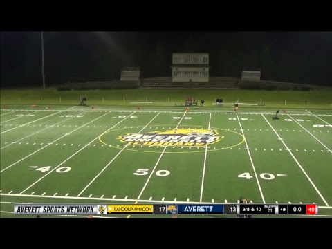 Averett football vs. Randolph-Macon