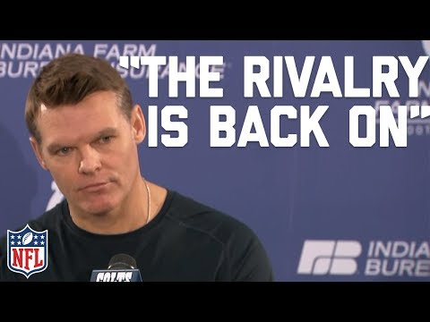 """Colts GM on Josh McDaniels, """"The Rivalry is Back On"""" 