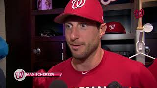 Max Scherzer on the Capitals' Stanley Cup victory