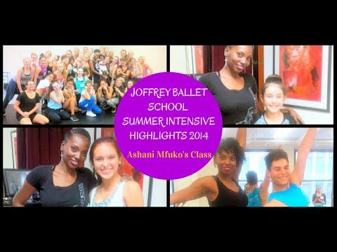 Joffrey Ballet School Summer Intensive NYC Highlights - Ashani Mfuko's Class