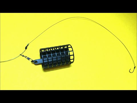 Feeder Equipment On A Braided Cord Feeder For Beginners Life Hacks And Homemade Products For Fishing