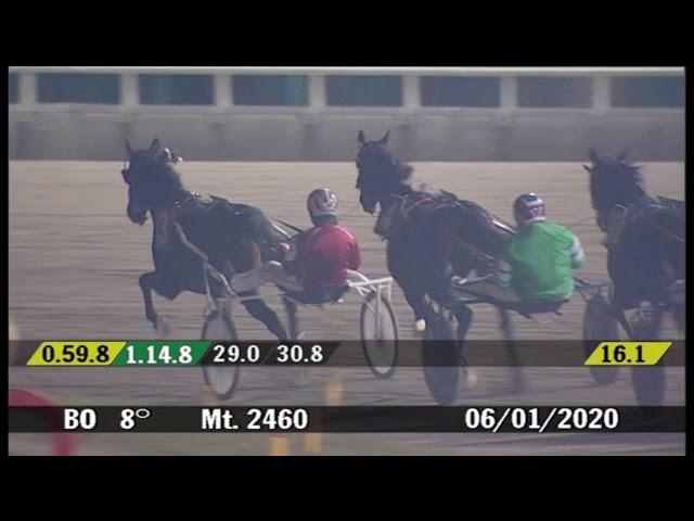 2020 01 06 | Corsa 8 | Metri 2460 | Gran Premio della Vittoria Trofeo Qn Il Resto Del Carlino