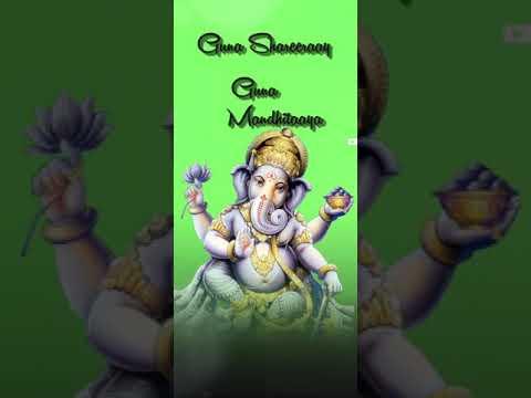 Download gananayakaya ganadaivataya ganadhyakshaya dhimahi status