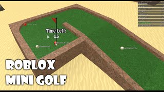 Let's Play: Roblox - Mini Golf (How to become a professional golfer)