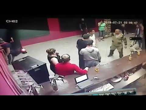 Двое отморозков избили посетителей кафе Атмосфера (НСО., г. Чулым)