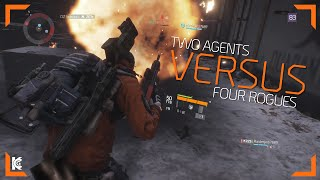 The Division | Two Agents VS Four Rogues