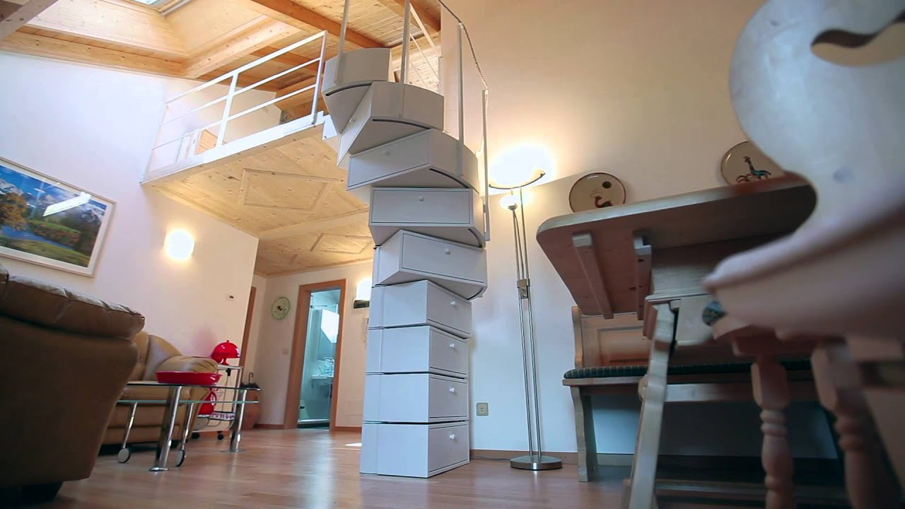 Folding Staircase
