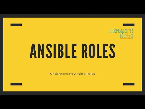 Ansible Roles - Understanding Ansible Roles